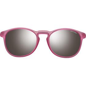 Julbo Junior 10-15Y Fame Spectron 3+ Sunglasses Matt Translucent Pink-Gray Flash Silver